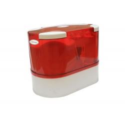 5 Aşamalı Tezgahaltı Pompalı Kapalı Kasa - 12 Litre Tanklı Kırmızı Su Arıtma Cihazı