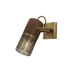 AVONNI AP-60265-1E Eskitme Kaplama Aplik  Metal Ahşap 6x12cm