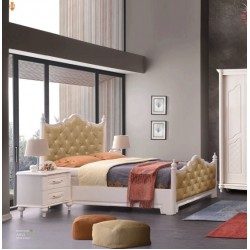 Aslı Yatak Odası Takımı Kapaklı Karyola MOD-ASK-KP