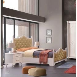 Aslı Yatak Odası Takımı Sürgülü Karyola MOD-ASK-SR