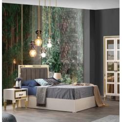 Beykoz Sarı Yatak Odası Takımı Karyola MOD-BYK-SYO