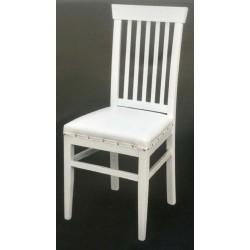 Çıtalı Beyaz Sandalye MOD-OA-A51